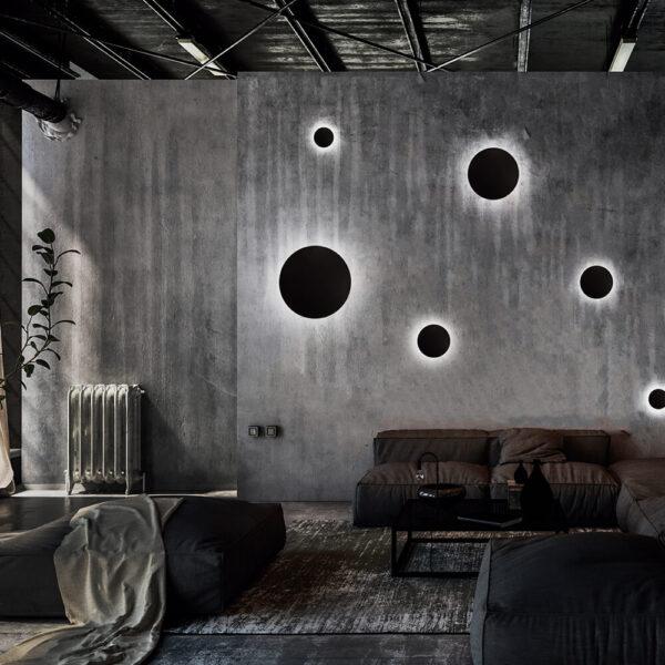 Composição arandelas Pleine Lune 342LED Newline