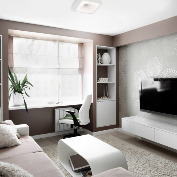 Plafon branco 480LED Newline