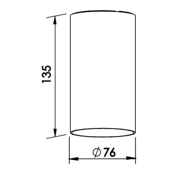 Desenho Técnico embutido IN50535 Newline