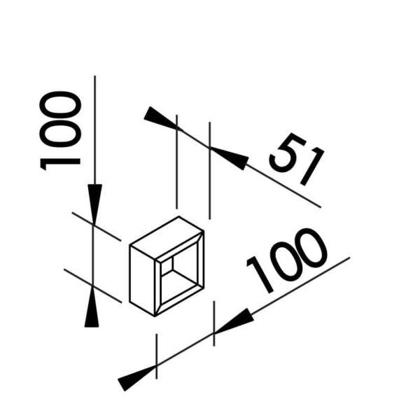 Desenho técnico arandela SN10140 Newline