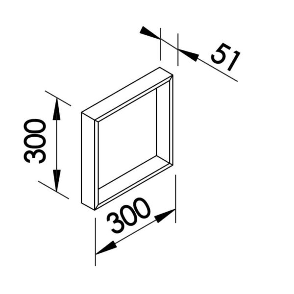 Desenho técnico arandela SN10145 Newline